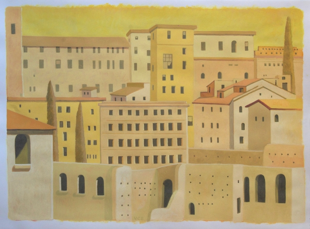 2-Gold City_2012_Casein and Tempera on Paper_22x30 inches_web